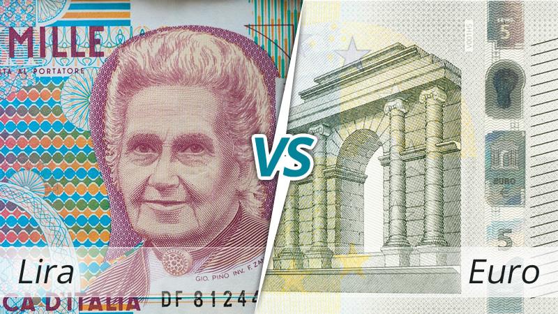Risultati immagini per lira euro
